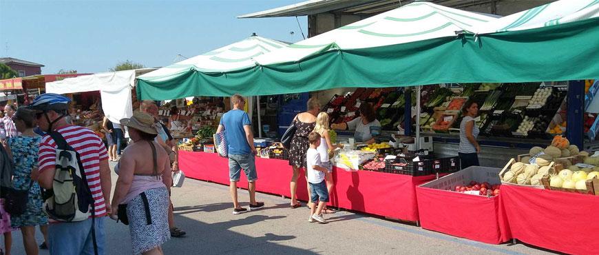le tende da mercato per ambulanti