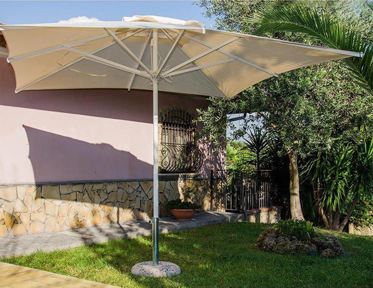 Offerta Ombrello da giardino alluminio